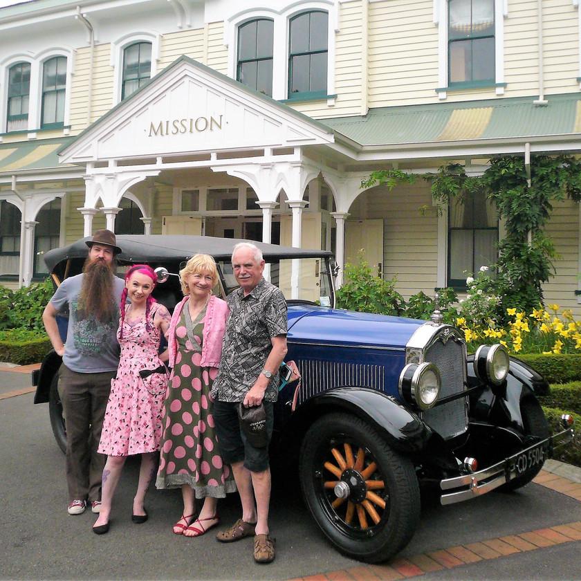 Scenic & Wine Tasting Tour by Vintage Car, Napier