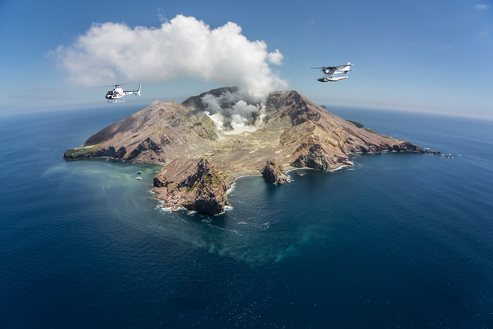 Вулкан Белый остров