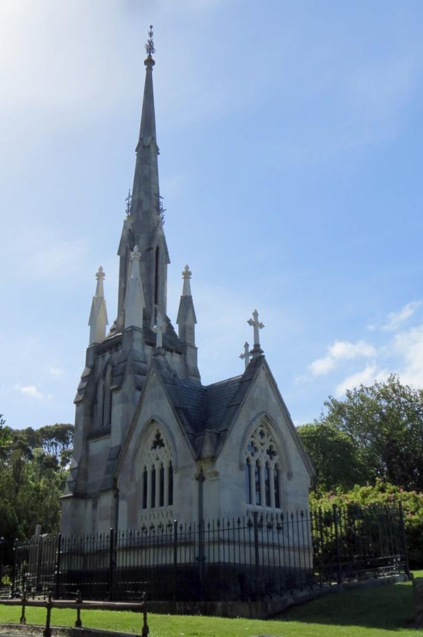 Larnach's mausoleum, Dunedin, New Zealand travel blog, New Zealand tours