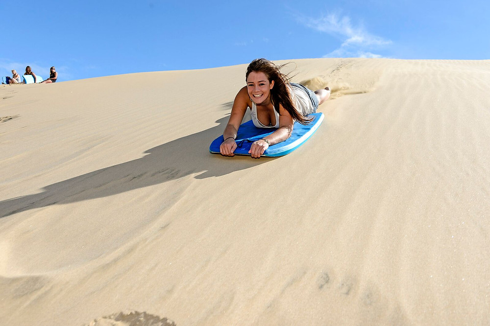 катание с дюн Новая Зеландия