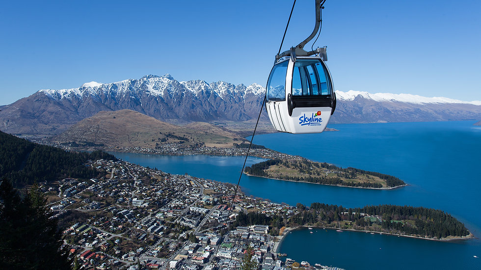 Skyline Gondola Ride, Queenstown