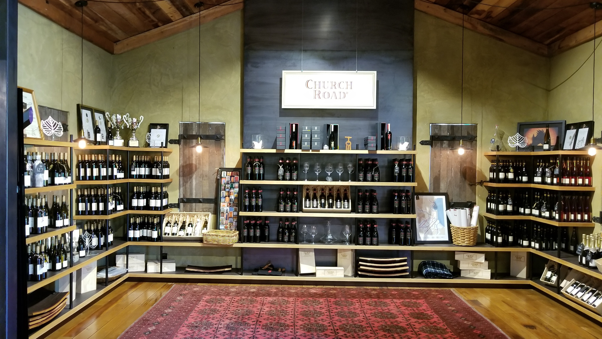 Church Road winery, Napier, New Zealand travel blog