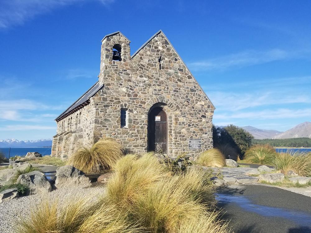 Church of the Good Shepard, lake Tekapo, New Zealand
