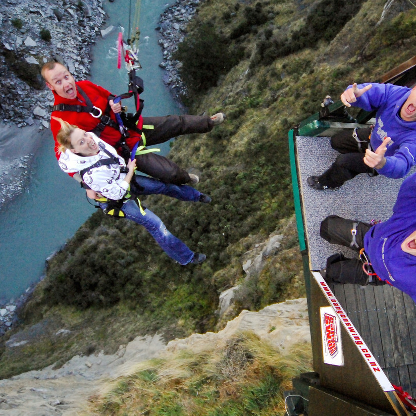 Shotover Canyon Swing, Queenstown