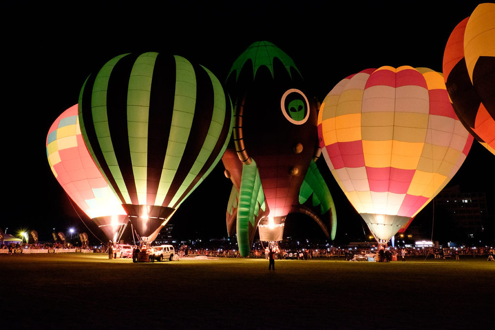 Balloons Over Waikato Festival, festivals in New Zealand