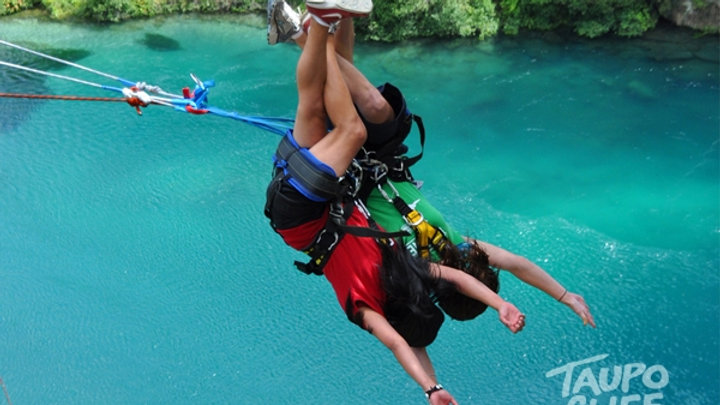 Taupo Cliffhanger Tandem Extreme Swing