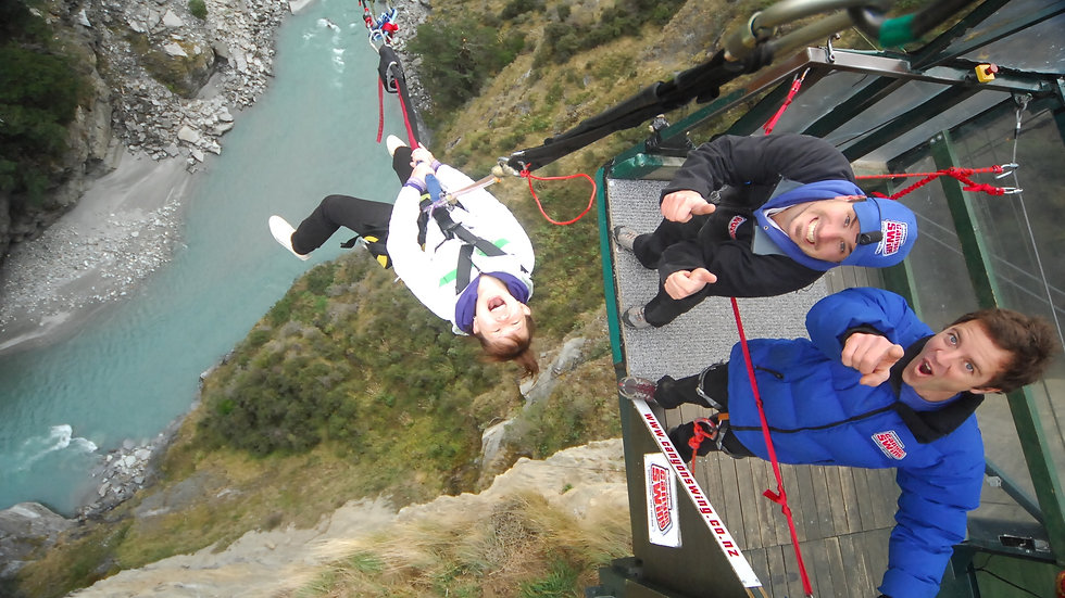 Shotover Canyon Fox & Swing, Queenstown, New Zealand