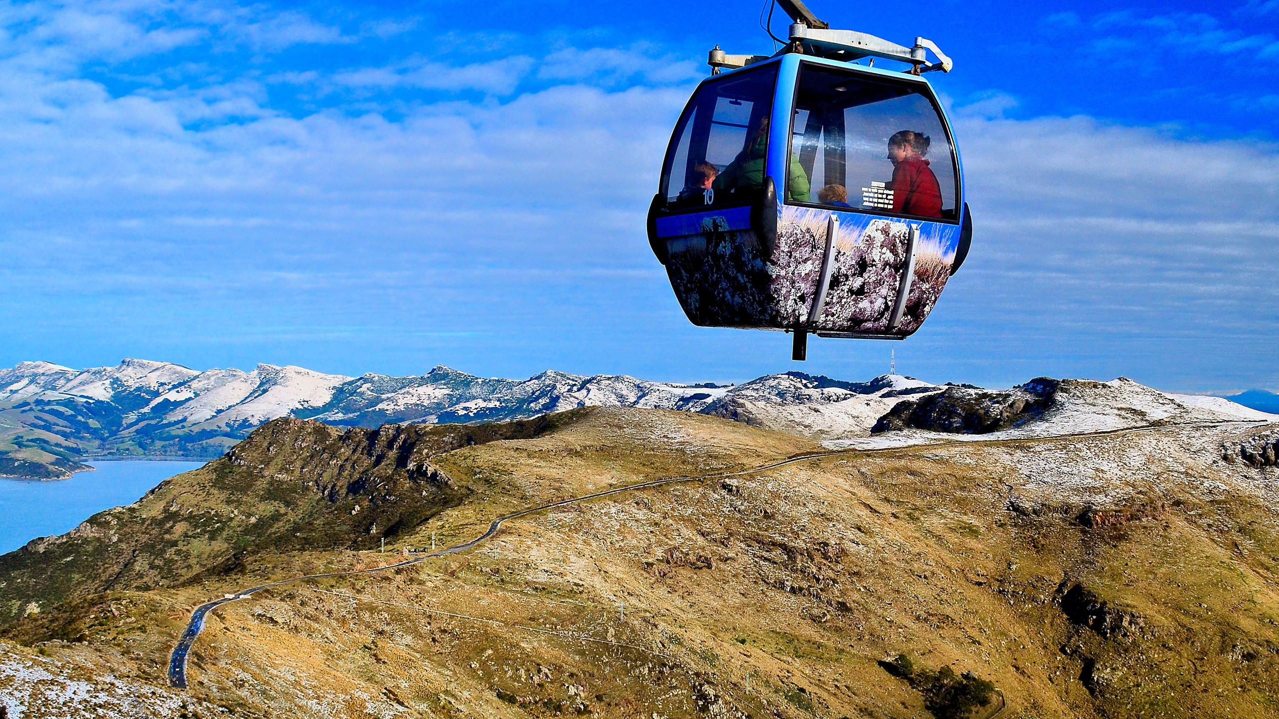 Christchurch Gondola, New Zealand activities, New Zealand tours