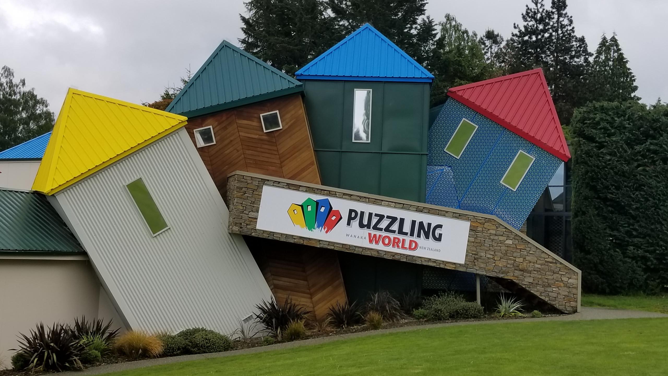 Puzzling World Wanaka, New Zealand activities, New Zealand tours