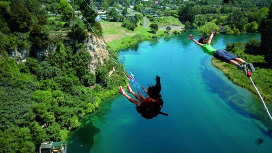 Taupo Bungy Bungy & Swing Combo