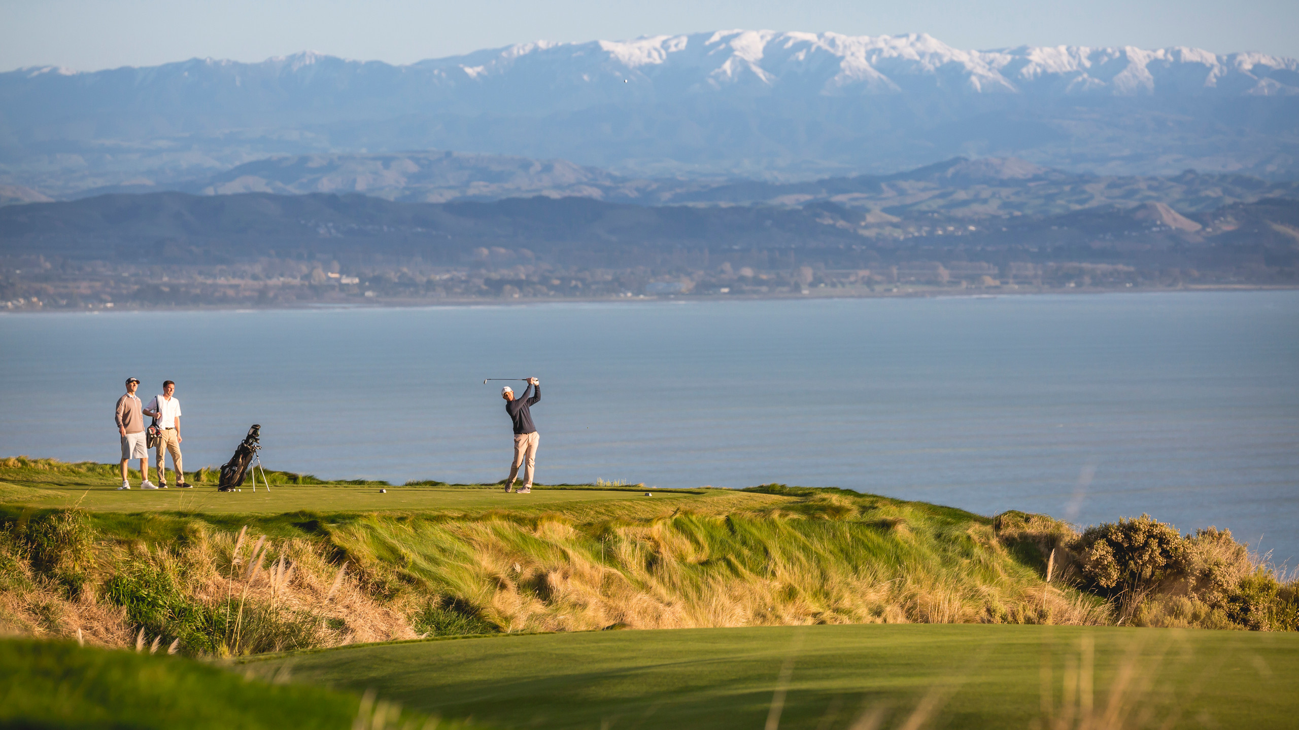 Golf course on Cape Kidnappers New Zealand