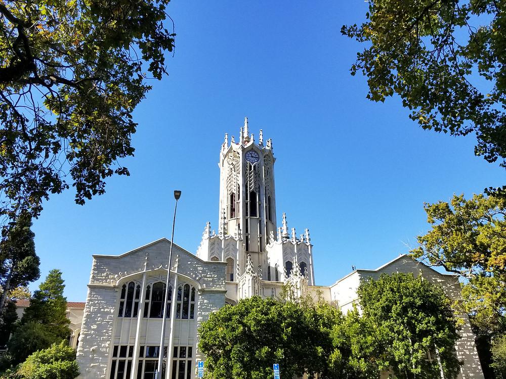 Clock Tower of Auckland University New Zealand