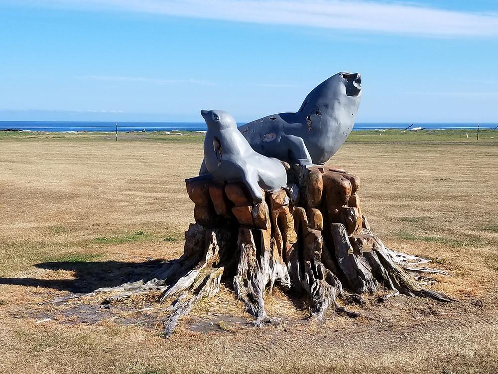 Вестпорт западное побережье Южного острова Новой Зеландии