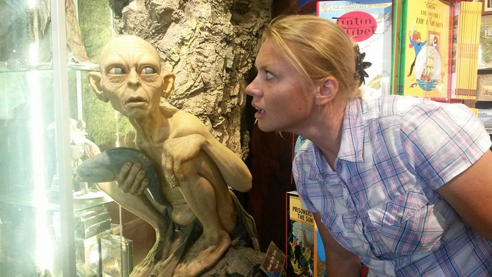 Gollum in Weta Cave Wellington New Zealand