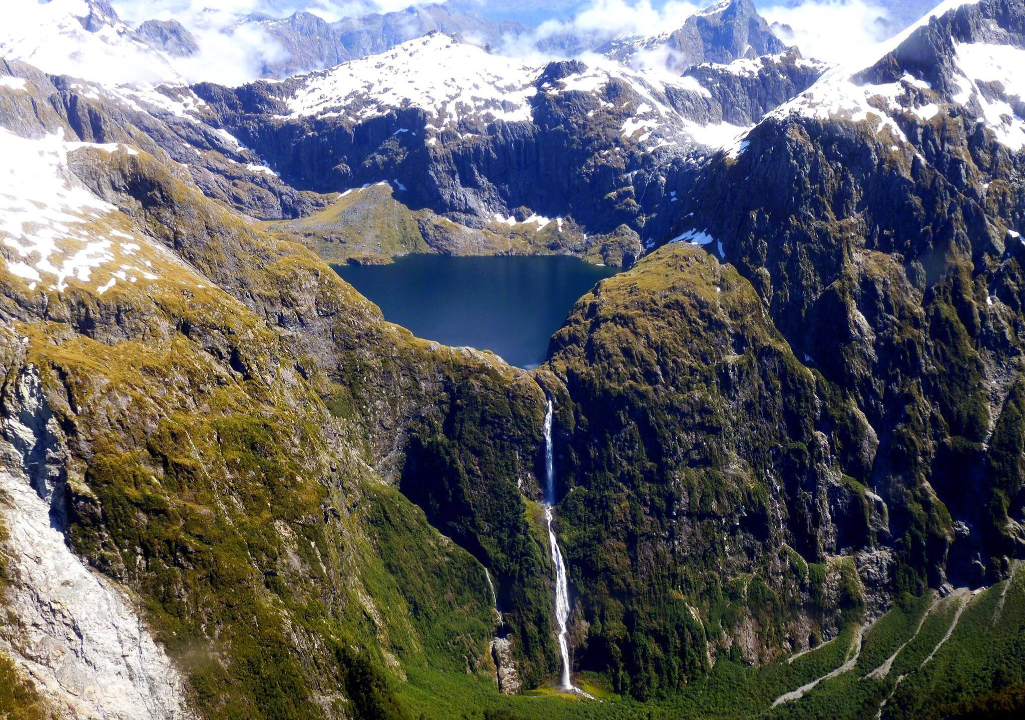 Sutherland waterfall, Fiordland, New Zealand attractions, New Zealand activities