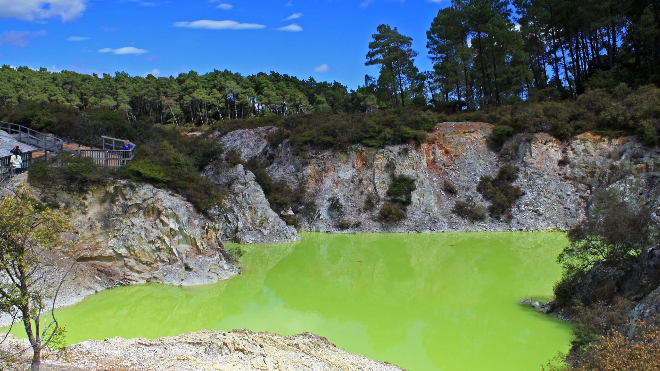Wai-O-Tapu Thermal Wonderland, New Zealand attractions, New Zealand activities