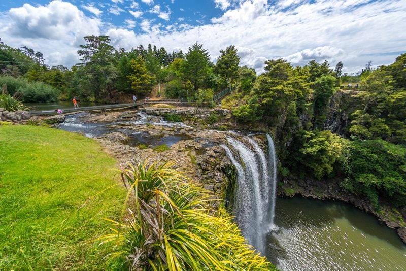 Waterfalls near Whangarei New Zealand