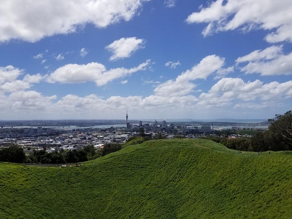 Вулкан Иден Окленд Новая Зеландия