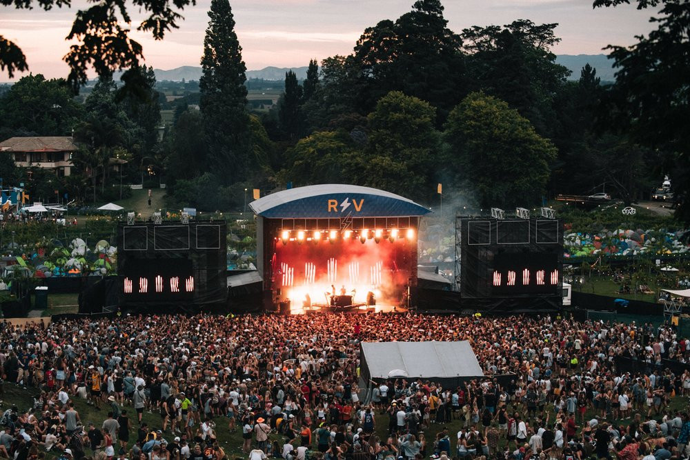 Rhythm and Vines music festival, Gisborne, festivals in New Zealand