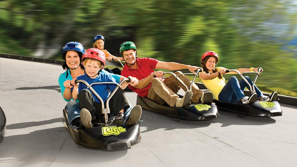 Luge rides Skyline Rotorua New Zealand