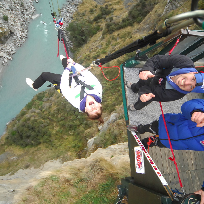Shotover Canyon Fox & Swing, Queenstown