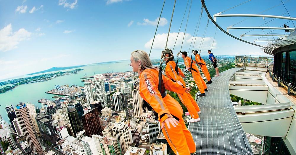 Skywalk, Auckland Sky Tower New Zealand