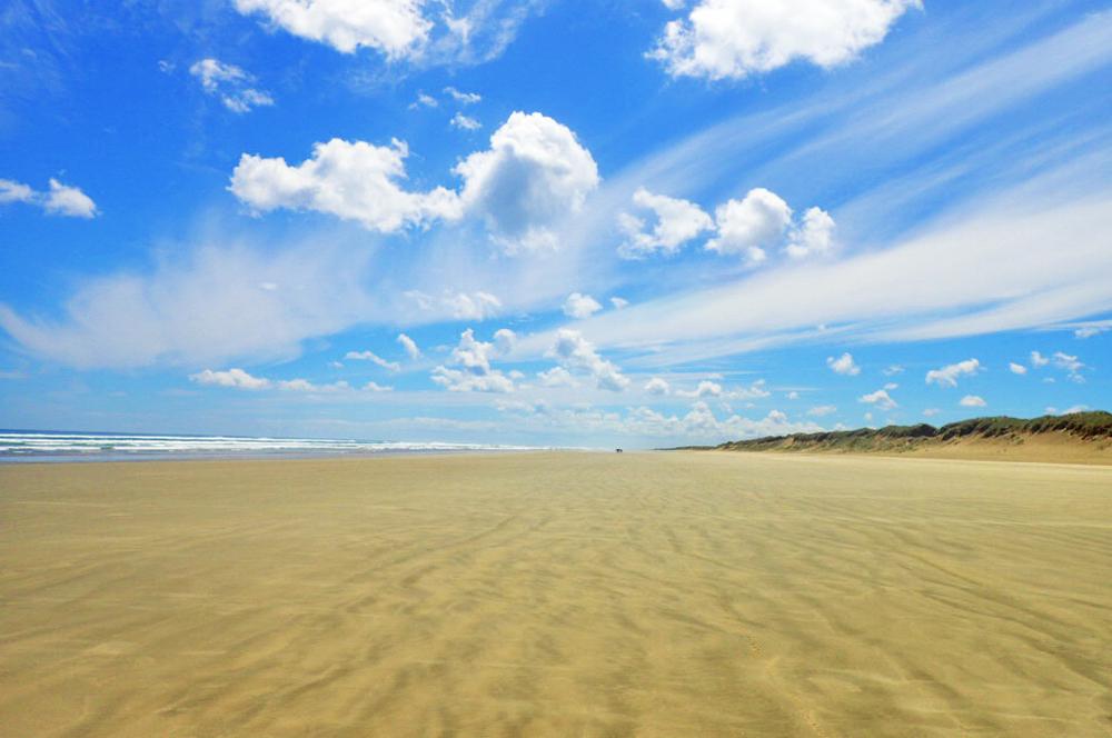 90-мильный пляж Новая Зеландия