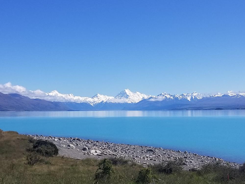 Гора Кука, озеро Пукаки, Новая Зеландия, туры в Новую Зеландию