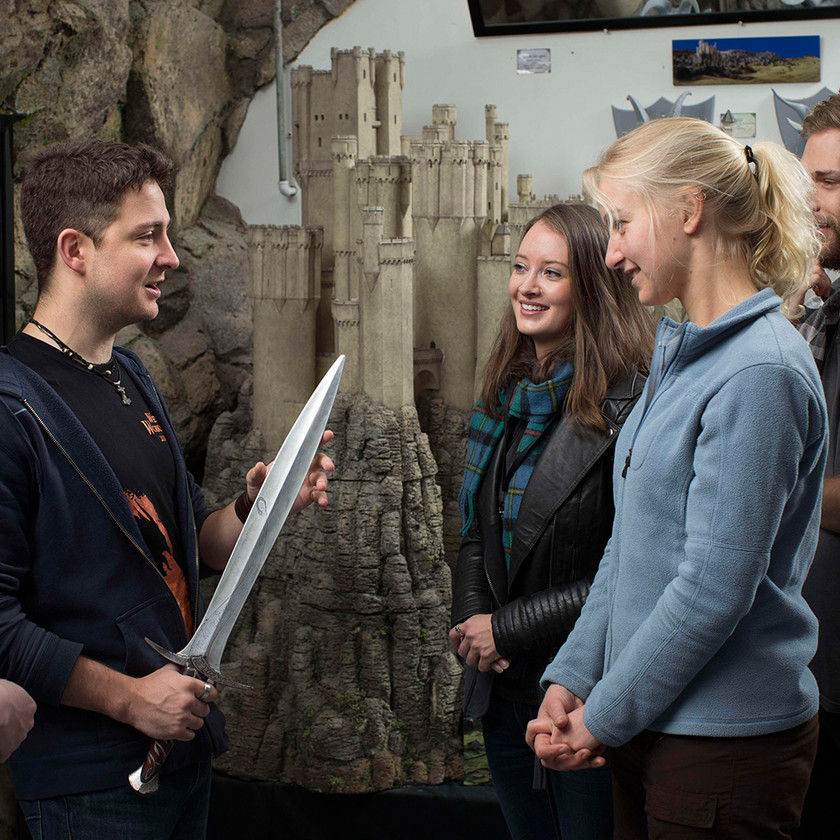 There and Back Again: Weta Cave Workshop Tour, Wellington