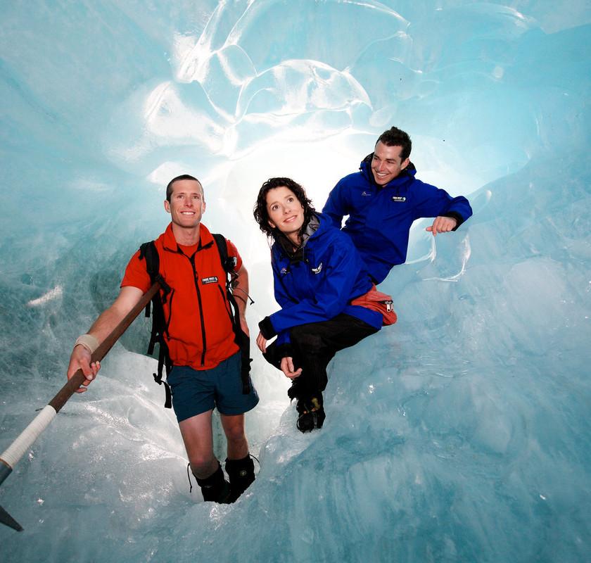 Franz Josef Glacier Heli-Hike: Includes Glacier Hot Public Pools