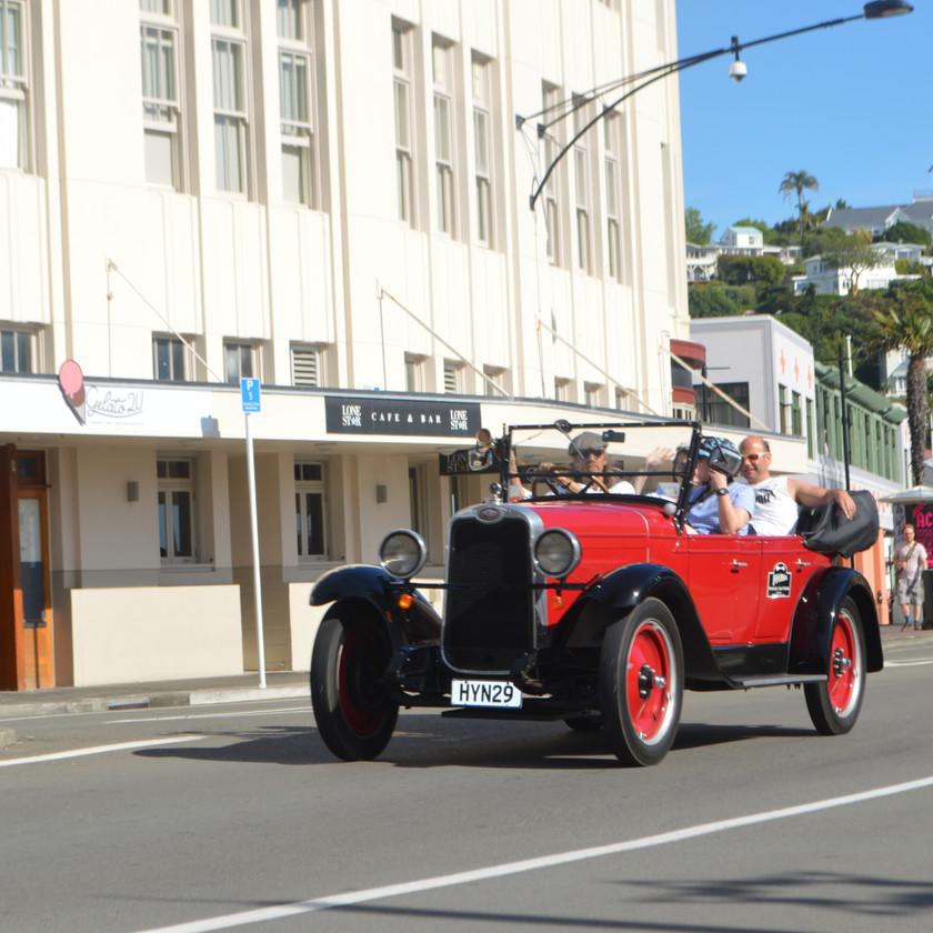 Napier City Tour by Vintage Car