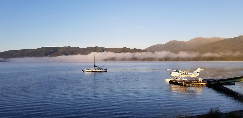 Озеро Те Анау, Новая Зеландия. Туры в Новую Зеландию.