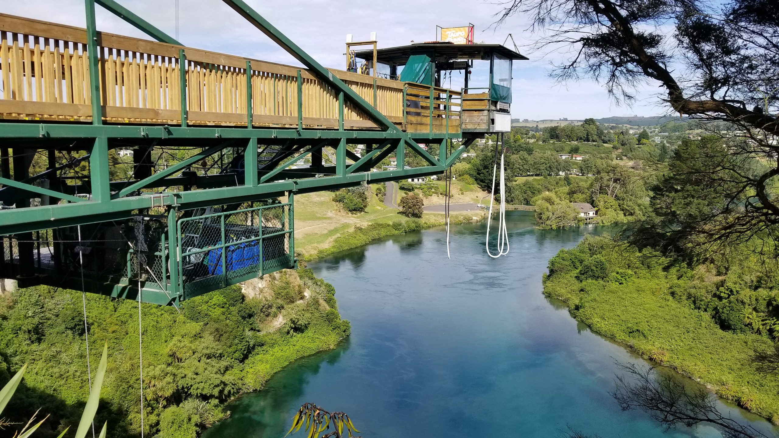 Taupo bungy, New Zealand activities, New Zealand attractions