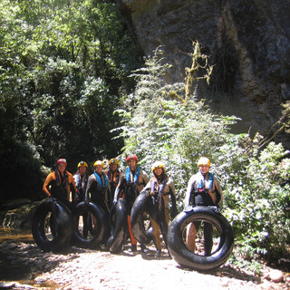 Перед рафтингом по пещерам