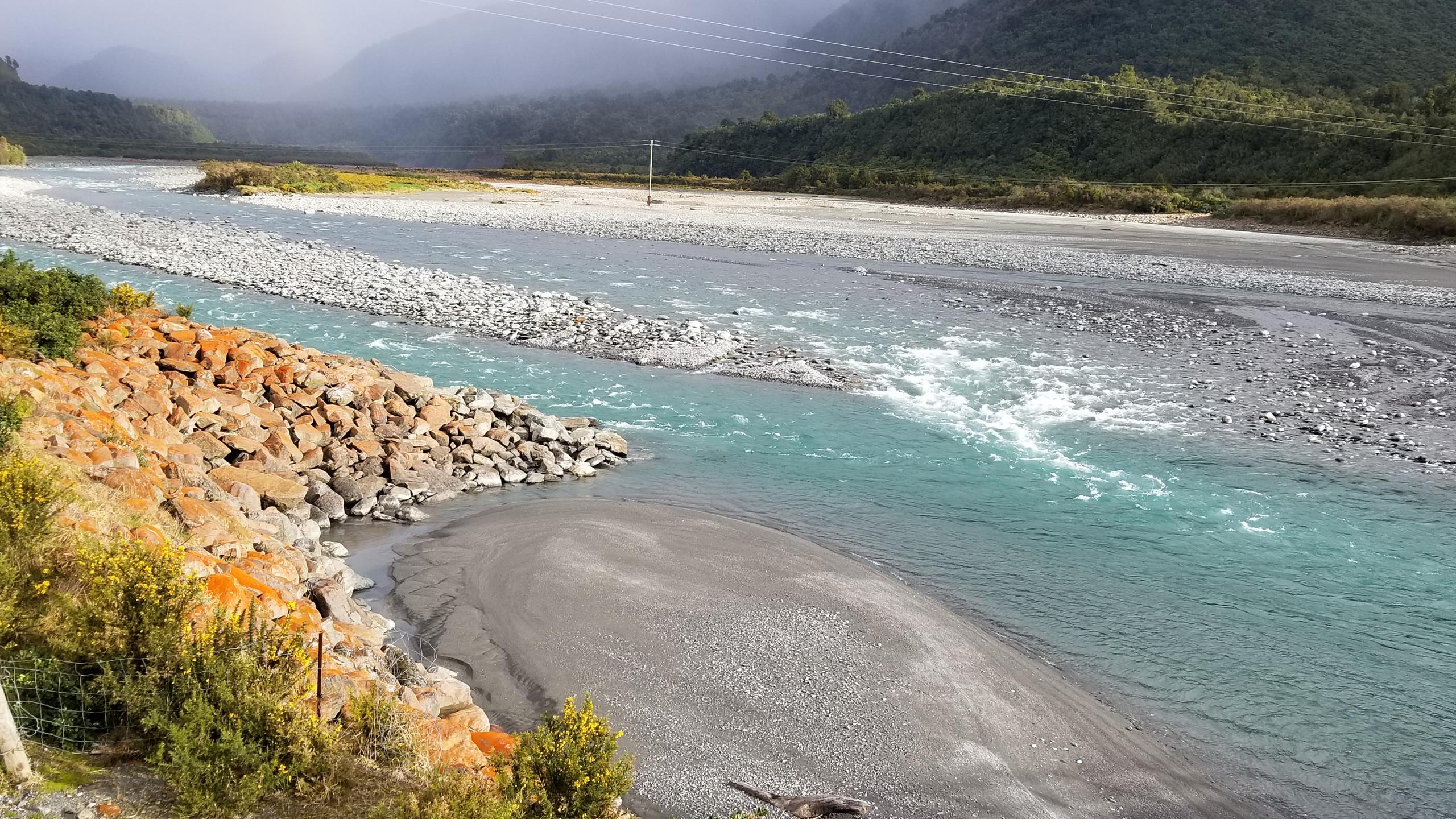 Near Fox glacier New Zealand