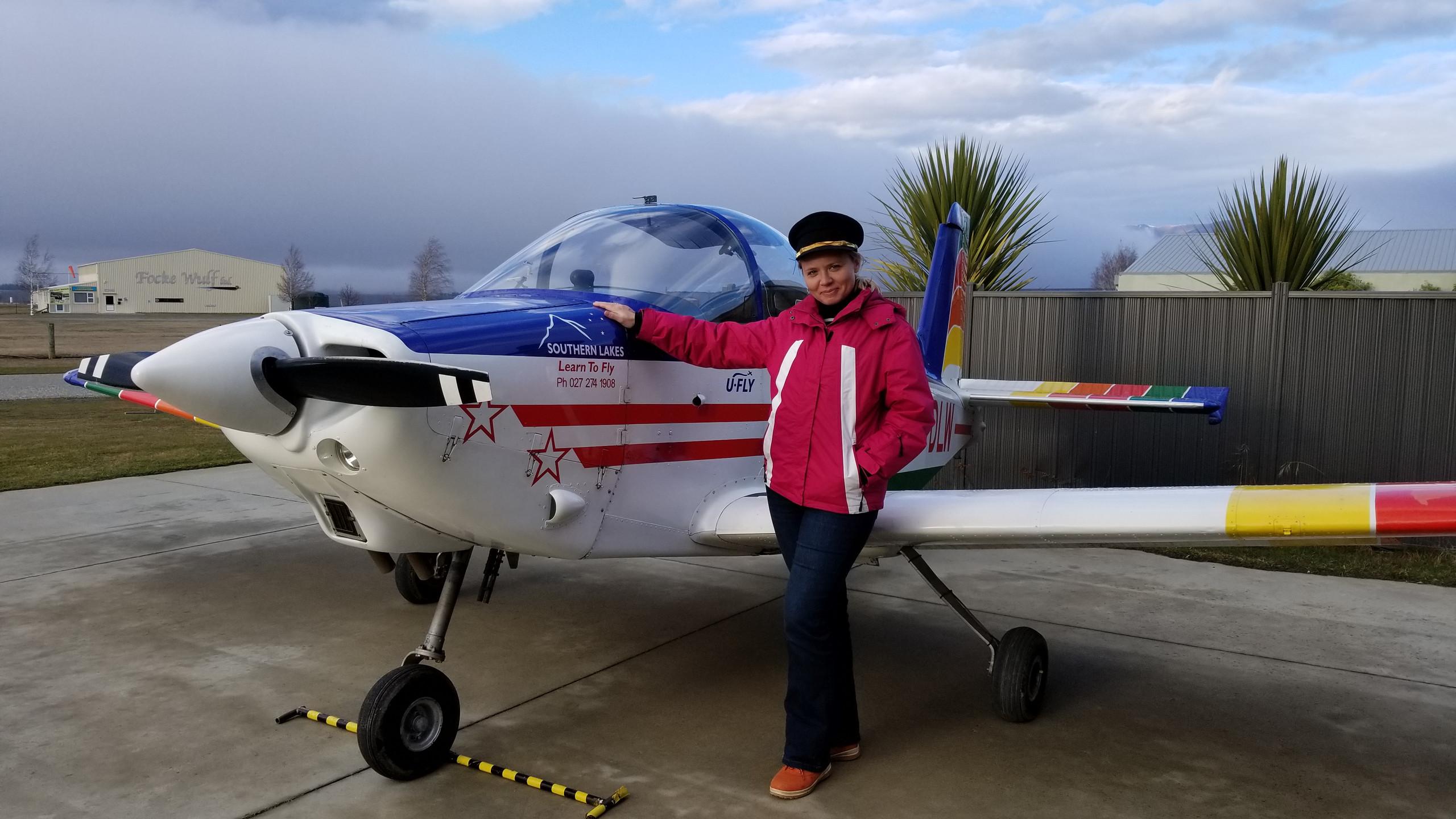 Pilot a plane in Wanaka New Zealand