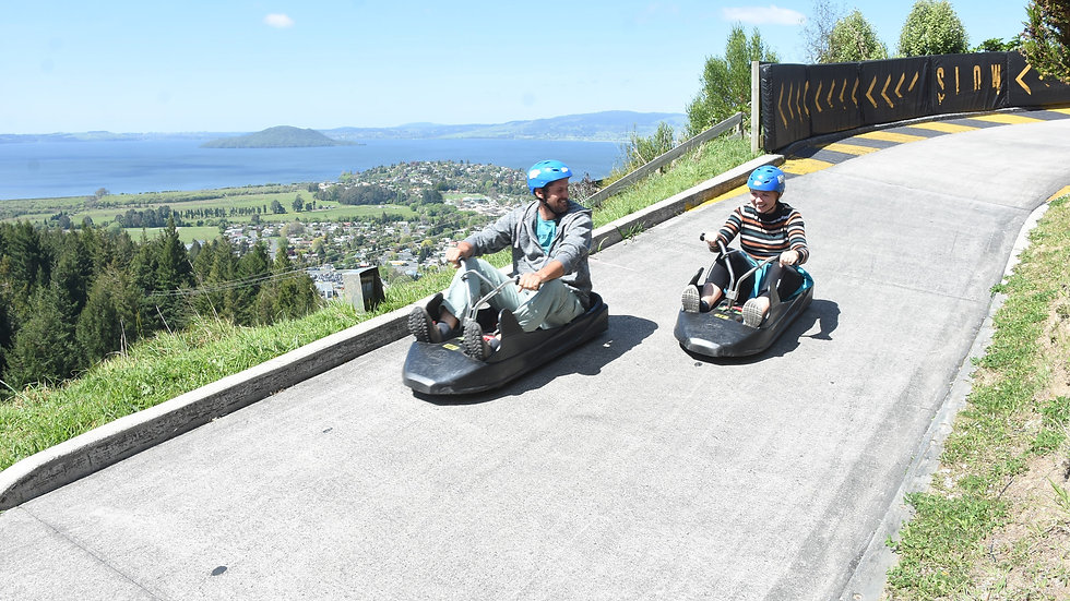 Luge Rides, Rotorua