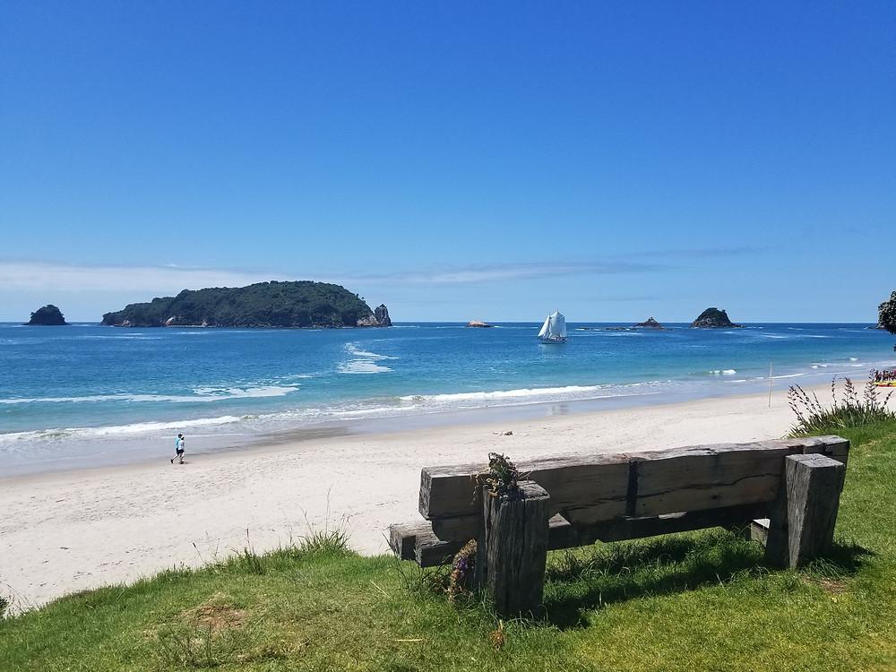 Hahei beach, Coromandel peninsula, New Zealand