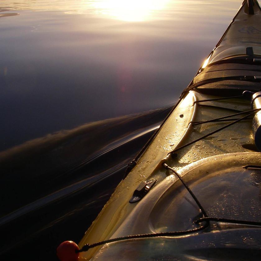 Taupo Kayaking - Evening on the Lake
