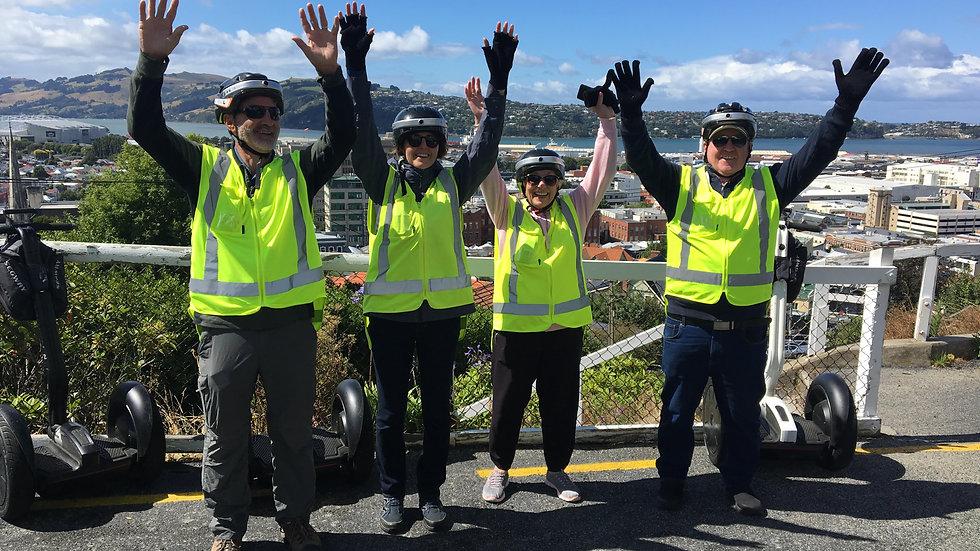 Segway tour in Dunedin New Zealand