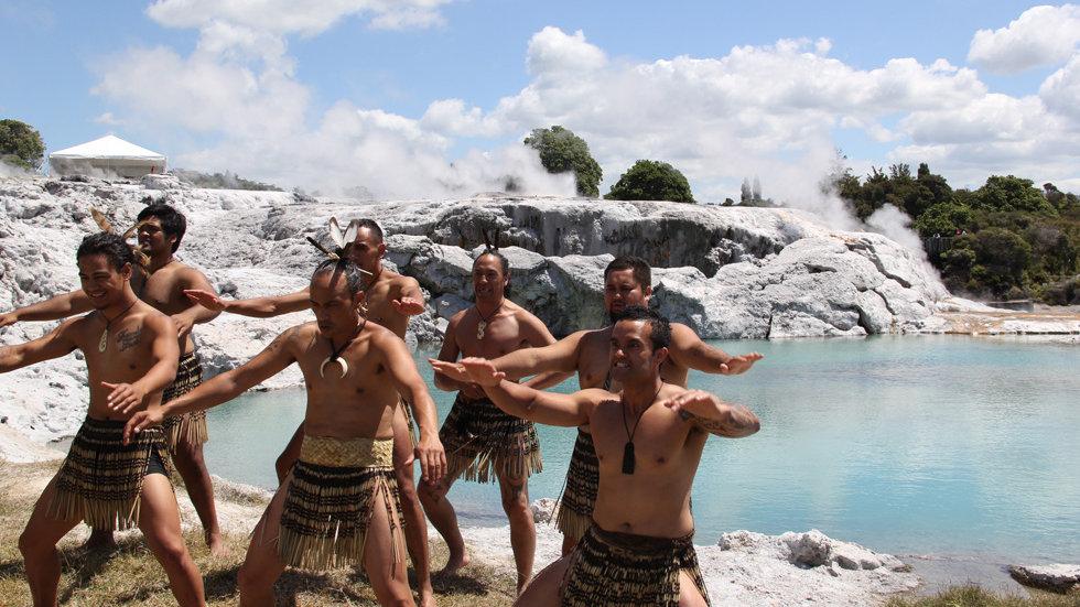 Te Puia Rotorua New Zealand