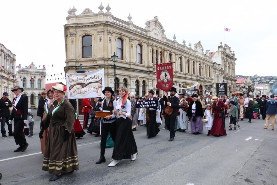 Victorian Fete Festival, Oamaru. Festivals in New Zealand