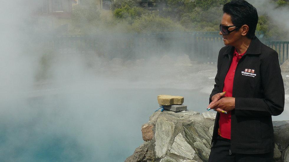 Маорийская деревня Факареварева, Роторуа, Новая Зеландия. Туры в новую Зеландию. Гид в Новой Зеландии.