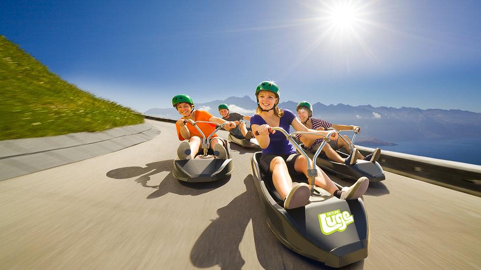 Gondola Luge Rides Queenstown