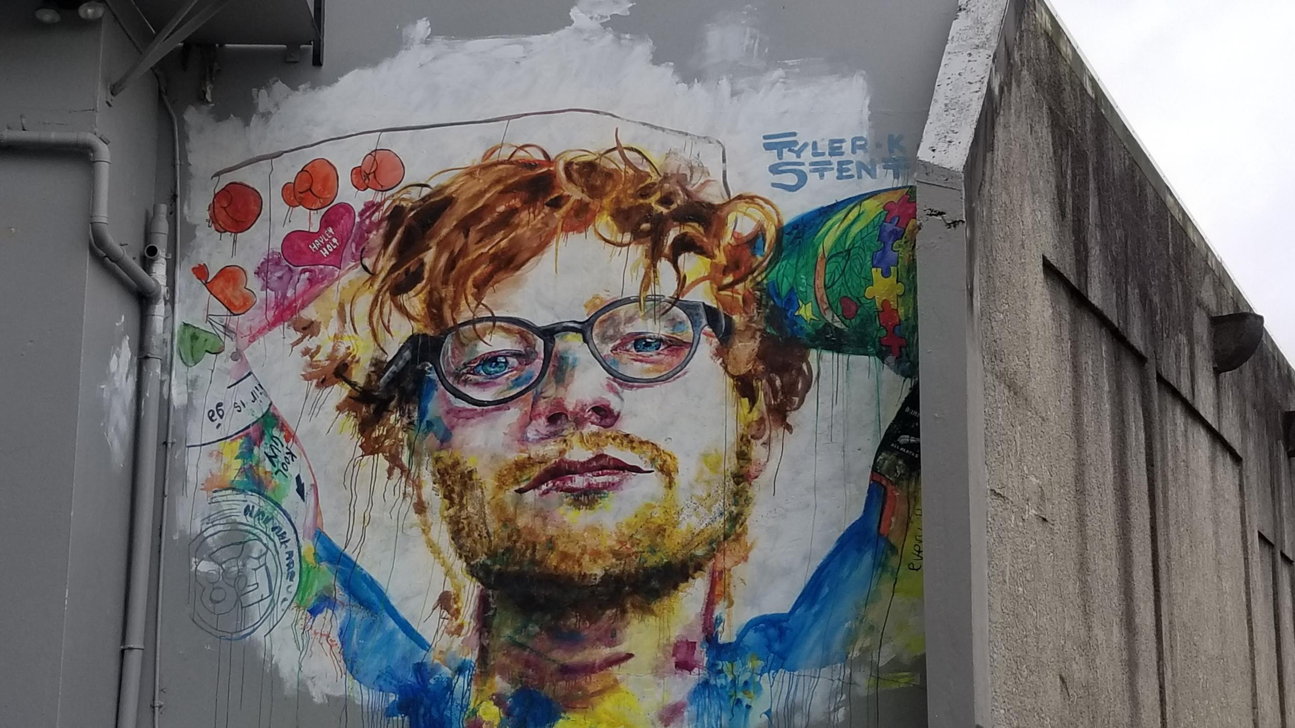 Граффити, Данидин, Новая Зеландия