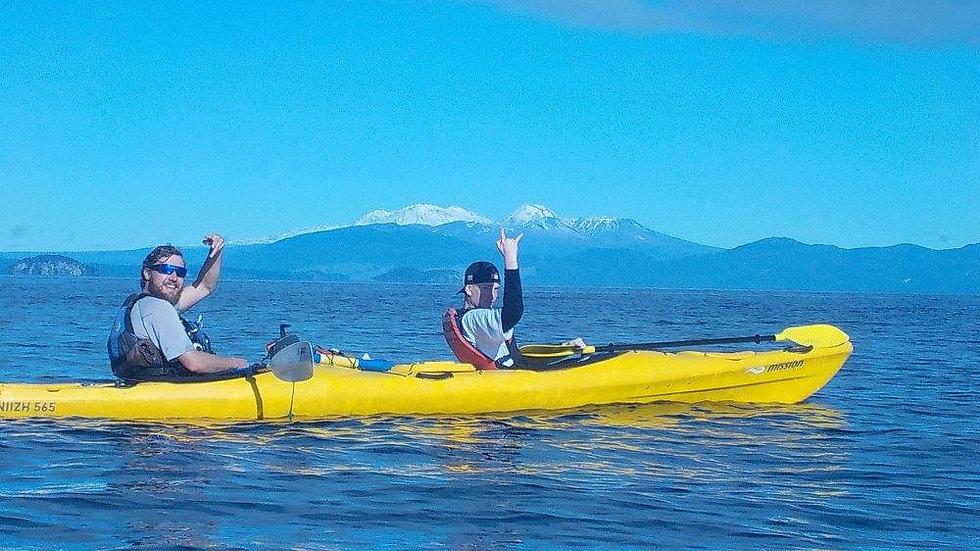 Taupo kayaking New Zealand