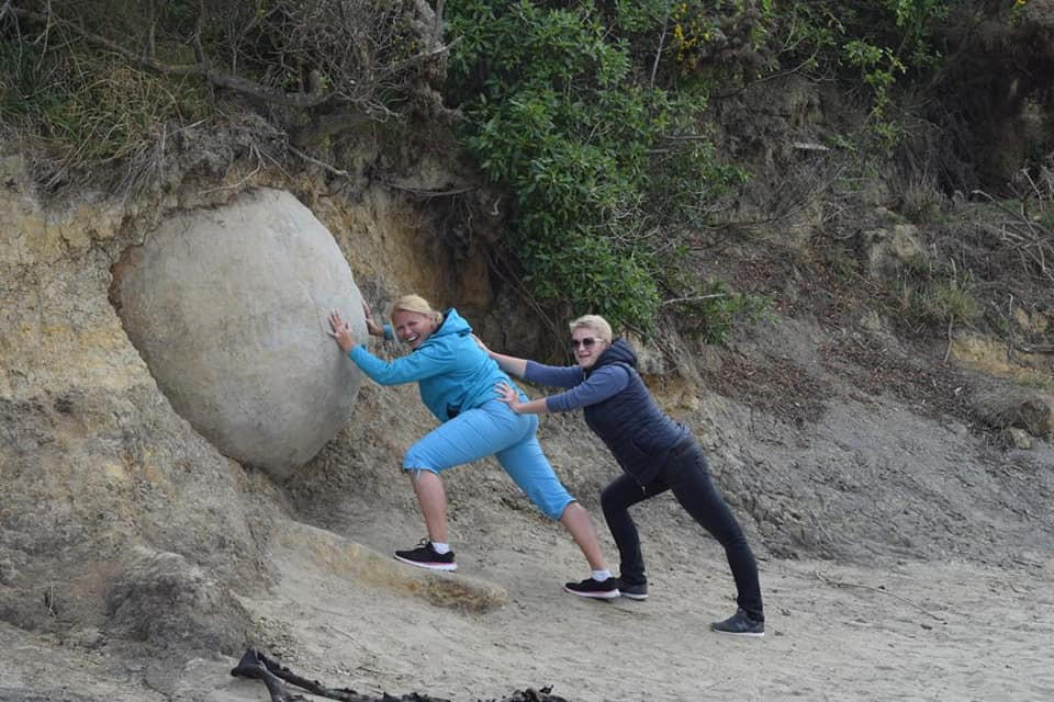 Moeraki boulders, New zealand tour, New Zealand itinerary