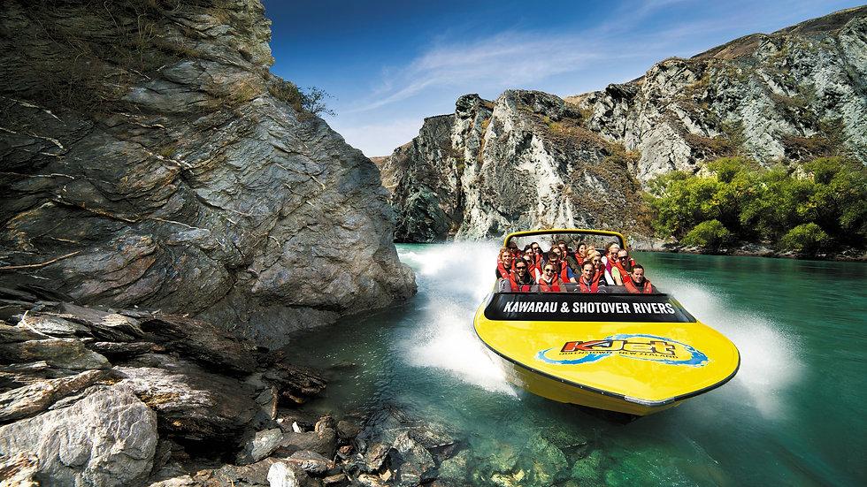 KJet boat ride Queenstown, New Zealand activities