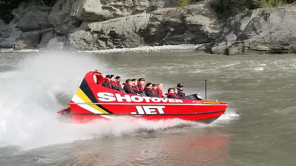 Shotover Jet Ride Queenstown New Zealand