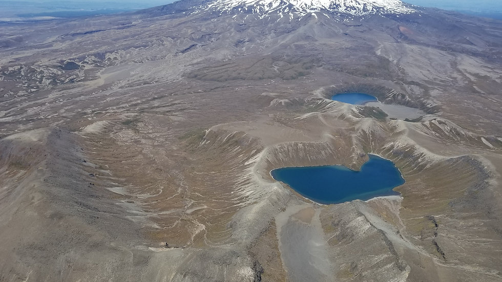 Tongariro national park flights
